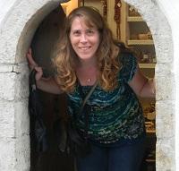 Amanda Robinette - Western Sakiori Doorway to a wood button shop in Tallinn, Estonia.